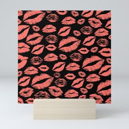 Lip 25 Living Coral Mini Art Print
