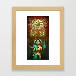 Becoming Seraphim Framed Art Print