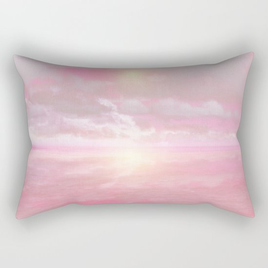 Out to Sea II Rectangular Pillow