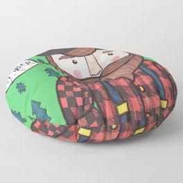 Timber Lumberjack Floor Pillow