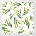leaves watercolor pattern by mmartabc