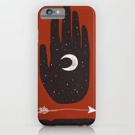 Moon & Arrow iPhone Case