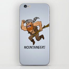 Mountaineer!  iPhone Skin