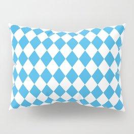 Blue Sky Modern Diamond Pattern Pillow Sham