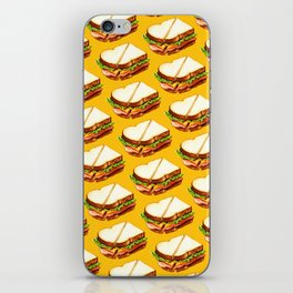 Ham Sandwich Pattern iPhone Skin