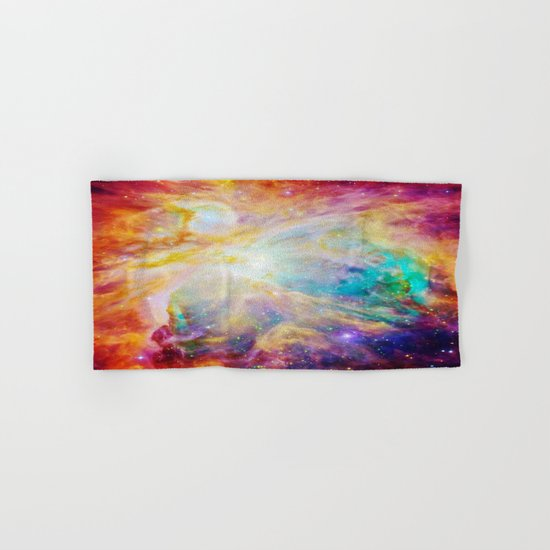 nEBula : Colorful Orion Nebula Hand & Bath Towel