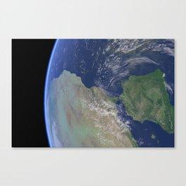 Earth Close 02 Canvas Print