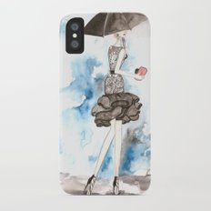 Rainy iPhone X Slim Case