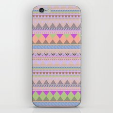 PASTEL AZTEC iPhone & iPod Skin