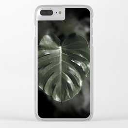 Don't leaf me Clear iPhone Case