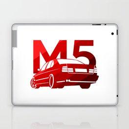 BMW E34 M5 - classic red - Laptop & iPad Skin