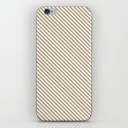 Iced Coffee Stripe iPhone Skin