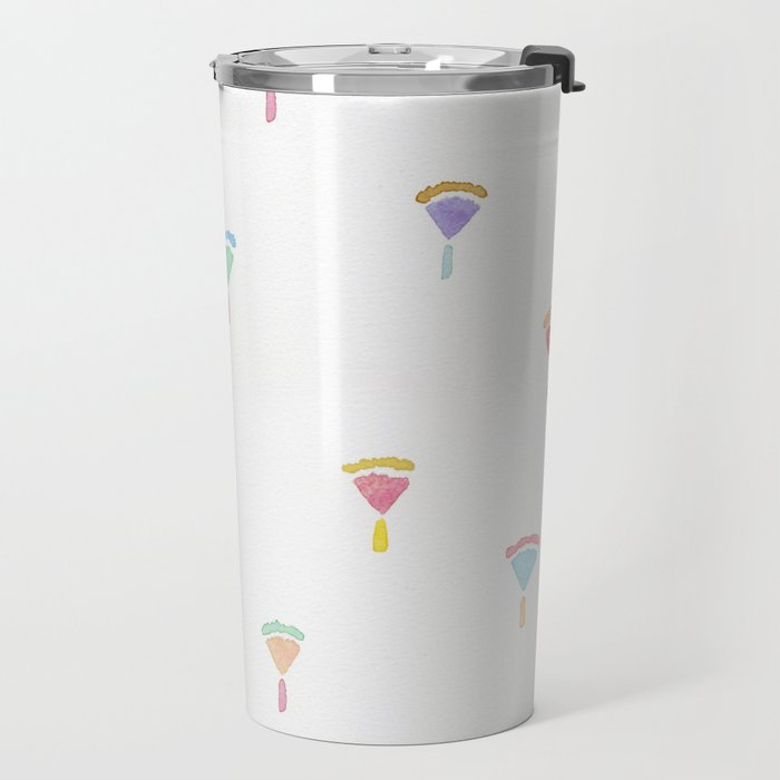 drawing flowers Travel Mug
