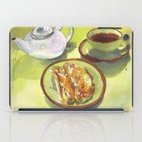 breakfast iPad Cases featuring Breakfast by Roisin