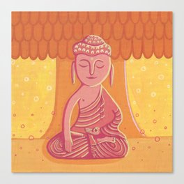 Buddha C Canvas Print