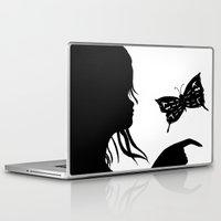 shadow Laptop & iPad Skins featuring Shadow by Ruby_Dag