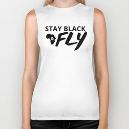 Stay Black and Fly Biker Tank