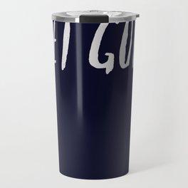 Let God x Navy Travel Mug