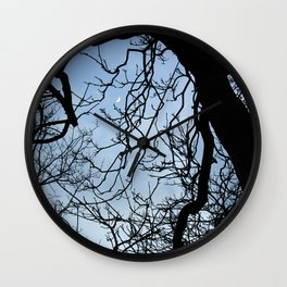 Hello moon Wall Clock