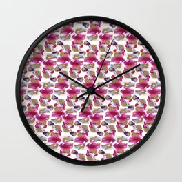 Eloise Abstract Painting Wall Clock