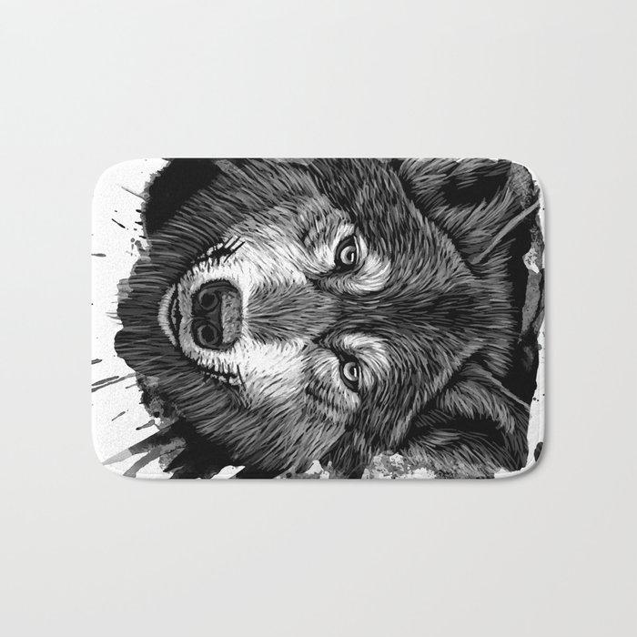Wolf 2 Bath Mat