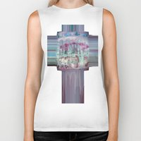 carousel Biker Tanks featuring Carousel by Heidi Fairwood