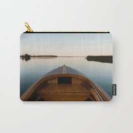 Summer Mornings On The Lake Carry-All Pouch