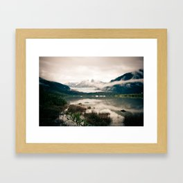ice Framed Art Print