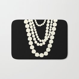 Fashion Pearls Bath Mat
