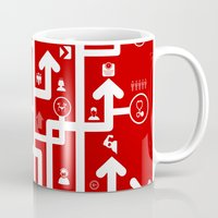 medicine Mugs featuring Arrow medicine by aleksander1
