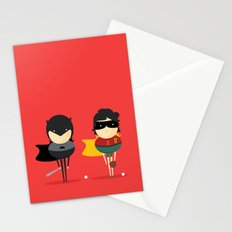 Heroes & super friends! Stationery Cards
