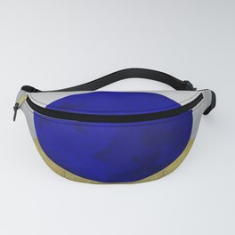 Minimal Moon Mountains Fanny Pack