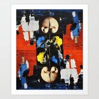 bond Art Prints featuring Bond by Alexander Ikhide