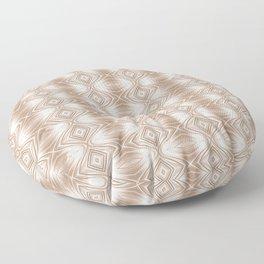Mocha Curves Floor Pillow