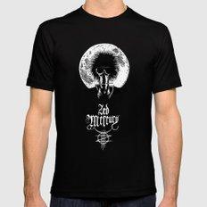 Zed Mercury: Psychopomp - Full Moon, DARK! Black Mens Fitted Tee MEDIUM