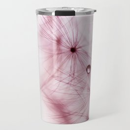 dandelion pink Travel Mug