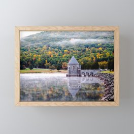New England Fog Framed Mini Art Print