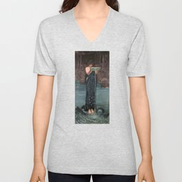 Circe Invidiosa - John William Waterhouse Unisex V-Neck