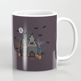 Halloween Haunted Houses Coffee Mug