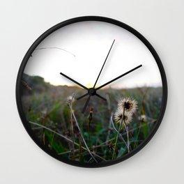 Fields of Sunshine Wall Clock