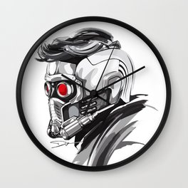 Star Lord Wall Clock