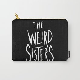 The Weird Sisters - White Carry-All Pouch
