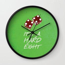 Friends 20th - Dice  Wall Clock