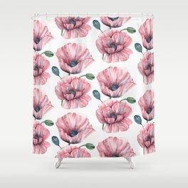 Summer poppies I Shower Curtain