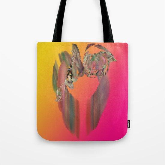Floral Ring Tote Bag