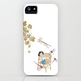 Summer afternoon dreams iPhone Case