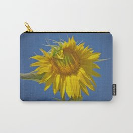 Sunflower in Spotlight Carry-All Pouch