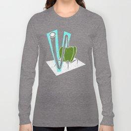 Vegetable Vacuum Cleaner V Long Sleeve T-shirt
