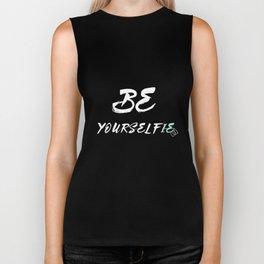 Be yourself(ie) Biker Tank