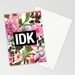 IDK Stationery Cards
